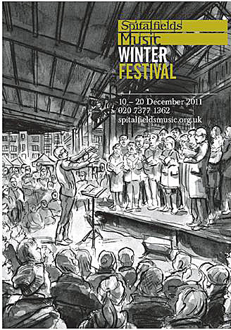Winter Festival leaflet - illustrated by Joanna Moore