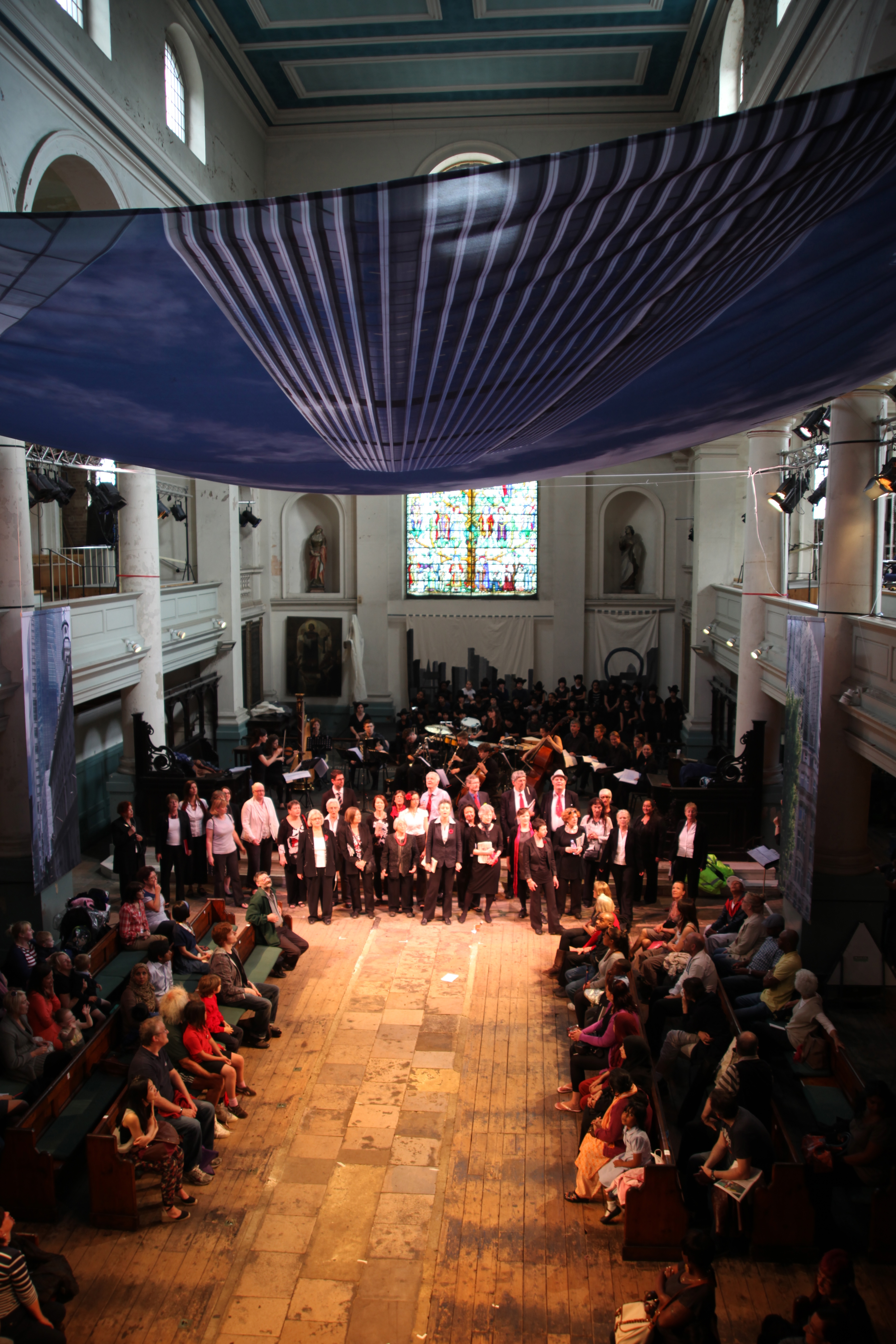 Shoreditch Church: In Pictures: The Award-nominated 'We Are Shadows