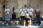 Workshopping with The Sixteen at Village Underground