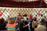 Storytelling Yurt with Idea Store - Midsummer Street Party