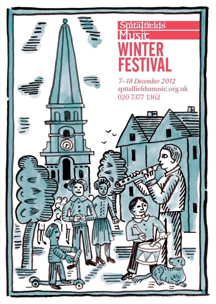 Spitalfields Music Winter Festival 2012 brochure