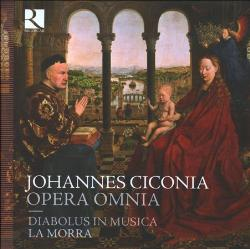 Works by Johannes Ciconia performed by La Morra.