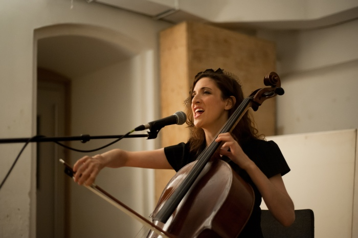 Laura Moody gripped our hearts in the Christ Church Crypt.