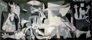 Guernica by Picasso was first shown at Whitechapel on its first and only visit to Britain.