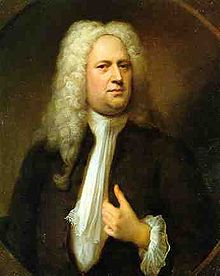 Portrait of Handel in the National Portrait Gallery, by Balthasaw Denner, 1933.