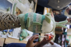 Freya Puppet comes to life